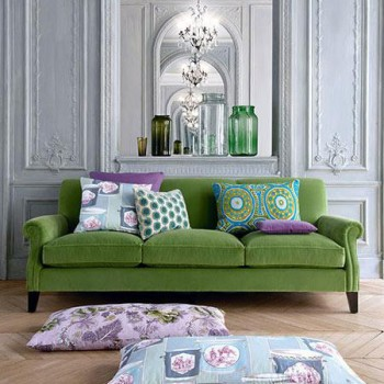 Serendip Collection Chateau de Bellevue Fabric @Manuel Canovas