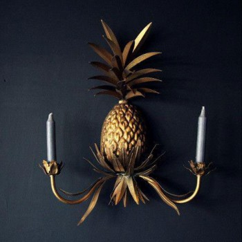 Pineapple Wall Sconce @Abigail Ahern