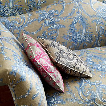 Leckford Toile Fabric & Wallpaper @John Lewis