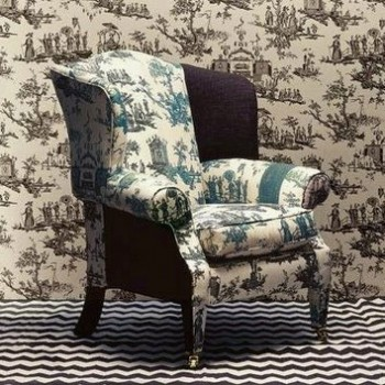 Chantermerle L'île Des Lanternes Fabric & Wallpaper @Zoffany