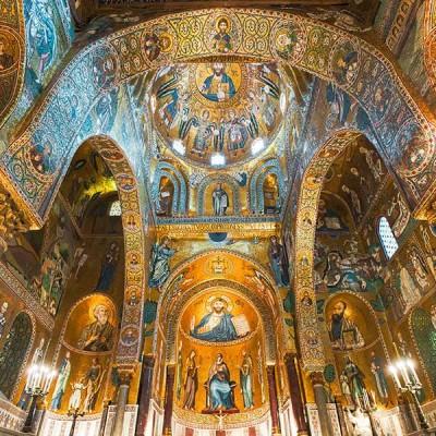 Santa Maria dell'Ammiraglio Palermo Sicily